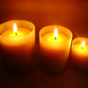 Aroma Therapy Beeswax Candles