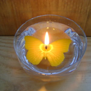 Floating Beeswax Candles